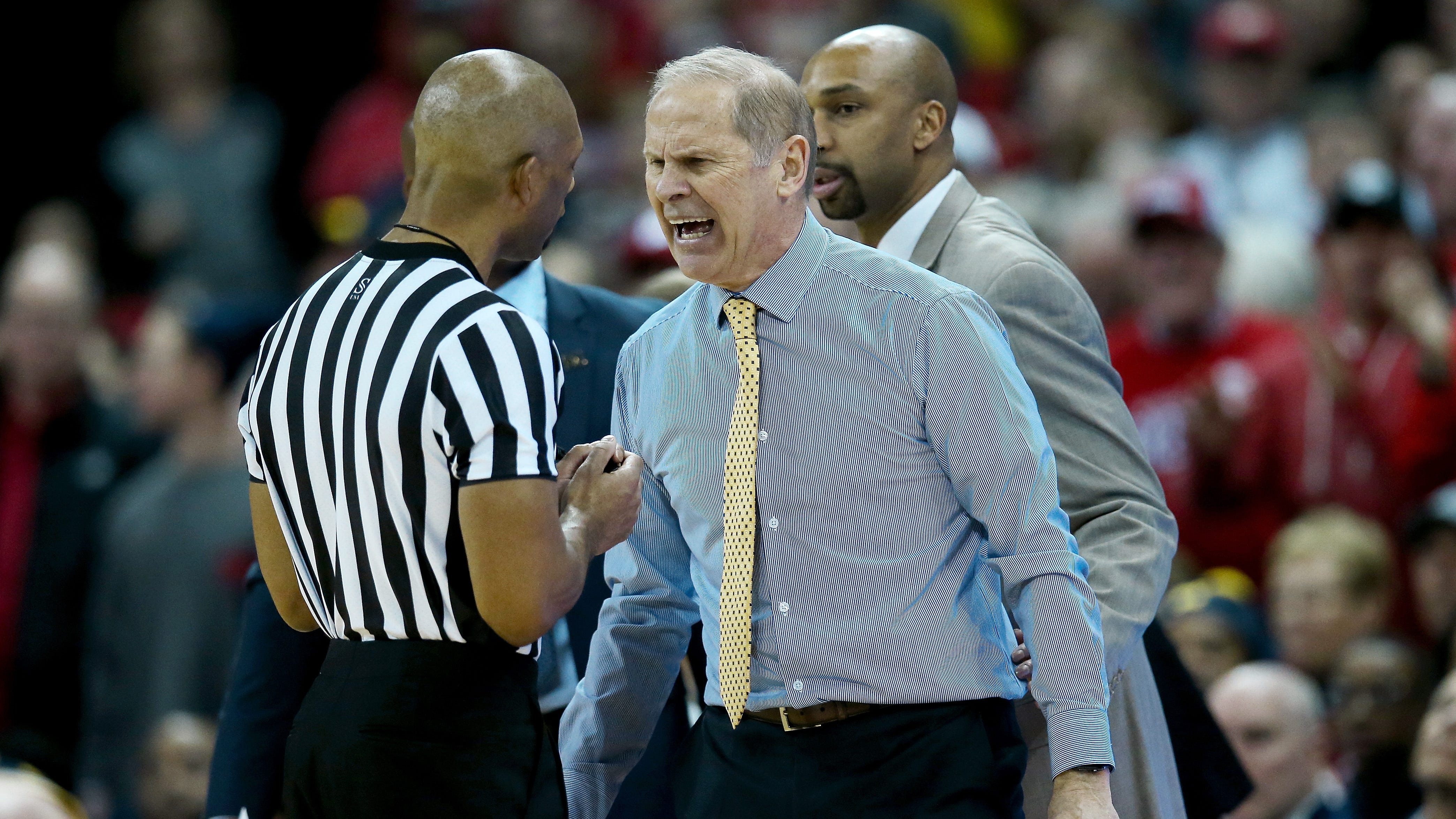 Michigan's John Beilein admits officials were correct on foul call