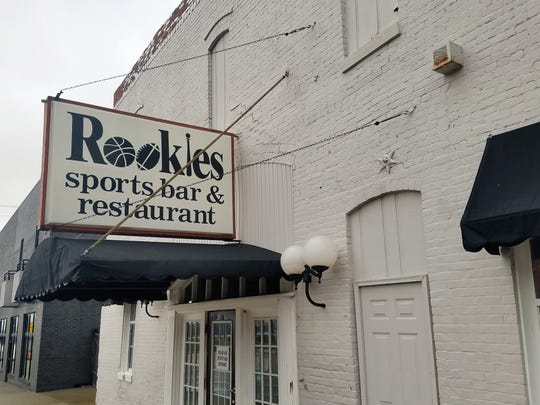 Rookies is located on Second Street in downtown Henderson.