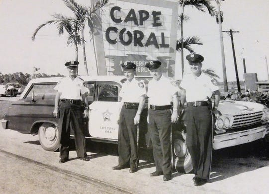 The Cape Coral Security Force in the early 1960s.