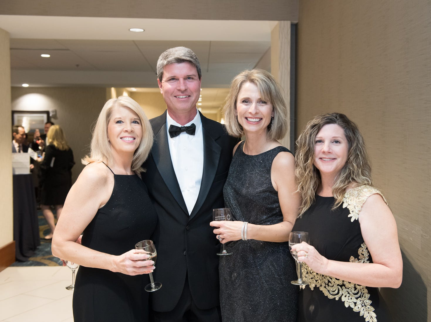 The 27th annual Red Cross Affair and wine auction is a beautiful black tie gala and is one of Greenville's most exclusive ticketed events. The event featured wine tasting, silent and live auctions, seated dinner and dancing. All proceeds help provide vital services to the residents of South Carolina including disaster relief, health and safety classes, blood collection for hospitals and services to the armed forces.