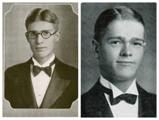 Basil Goldsmith, left, and Tommy Goldsmith.