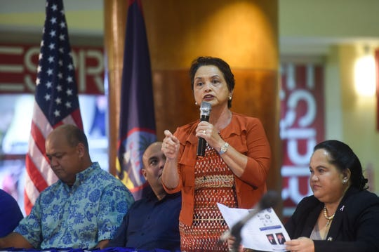 After delivering her speech during the 2019 Martin Luther King Jr. Day of Service Ceremony Monday, Gov. Lou Leon Guerrero said $3.8 million that the previous administrationillegally transferred from the Emergency 911 Fund will be returned within 120 days. The money was collected to upgrade Guam's emergency 911 phone system, but was instead used for other purposes.