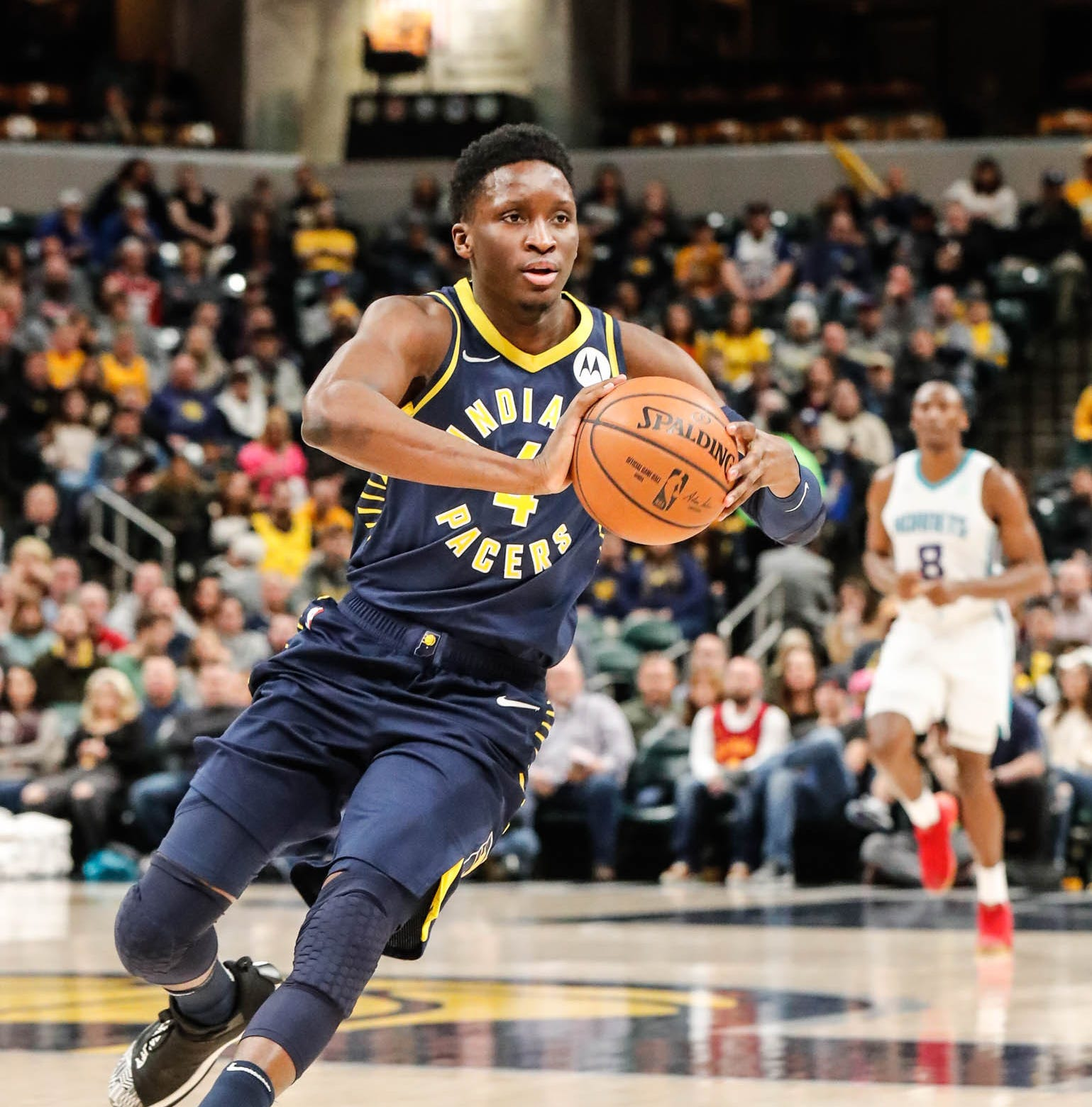 Victor Oladipo, Pacers get 'decisive' in win over Hornets