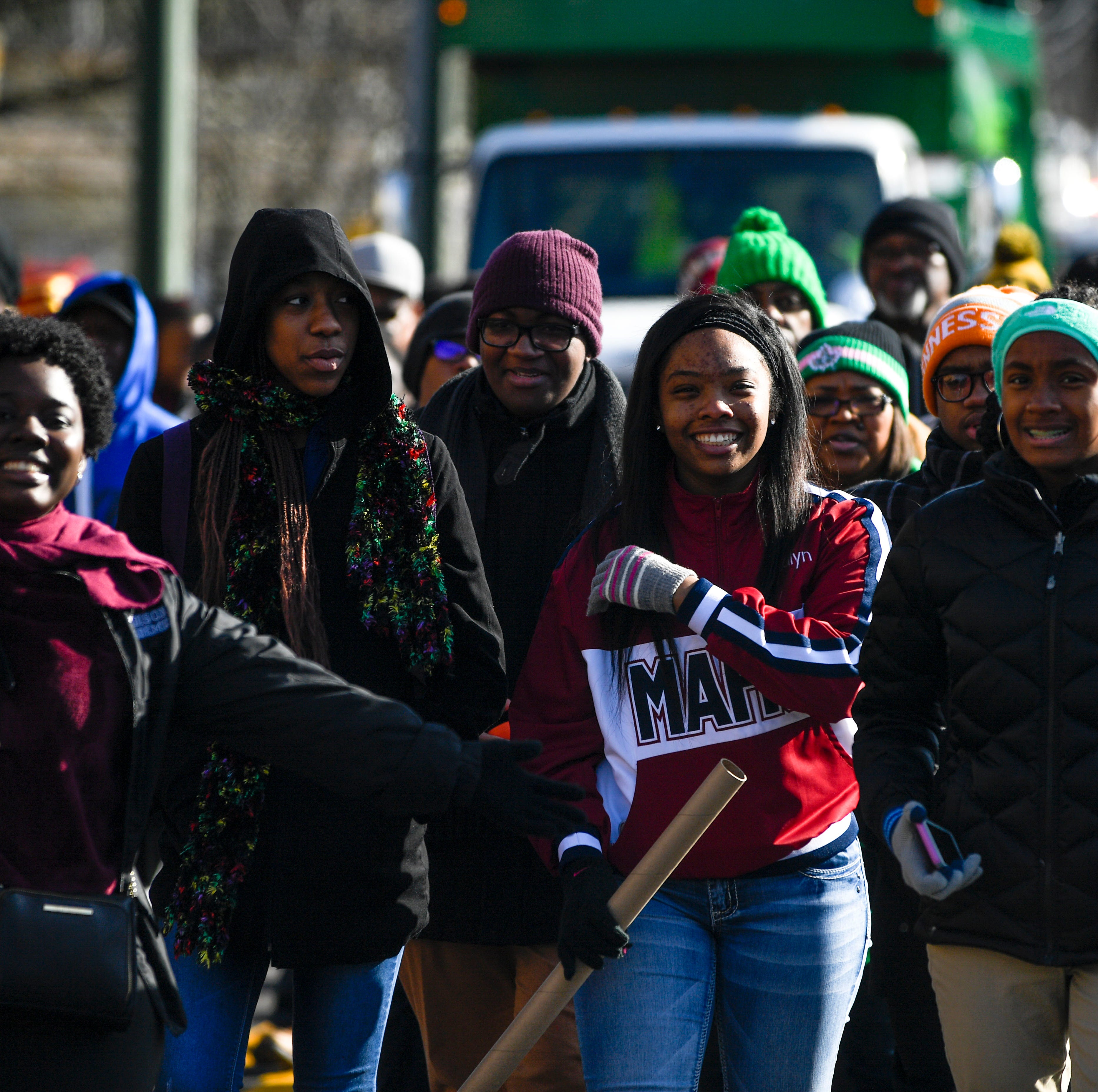 Group marches to remember and carry on MLK's legacy on Martin Luther King Day in Jackson