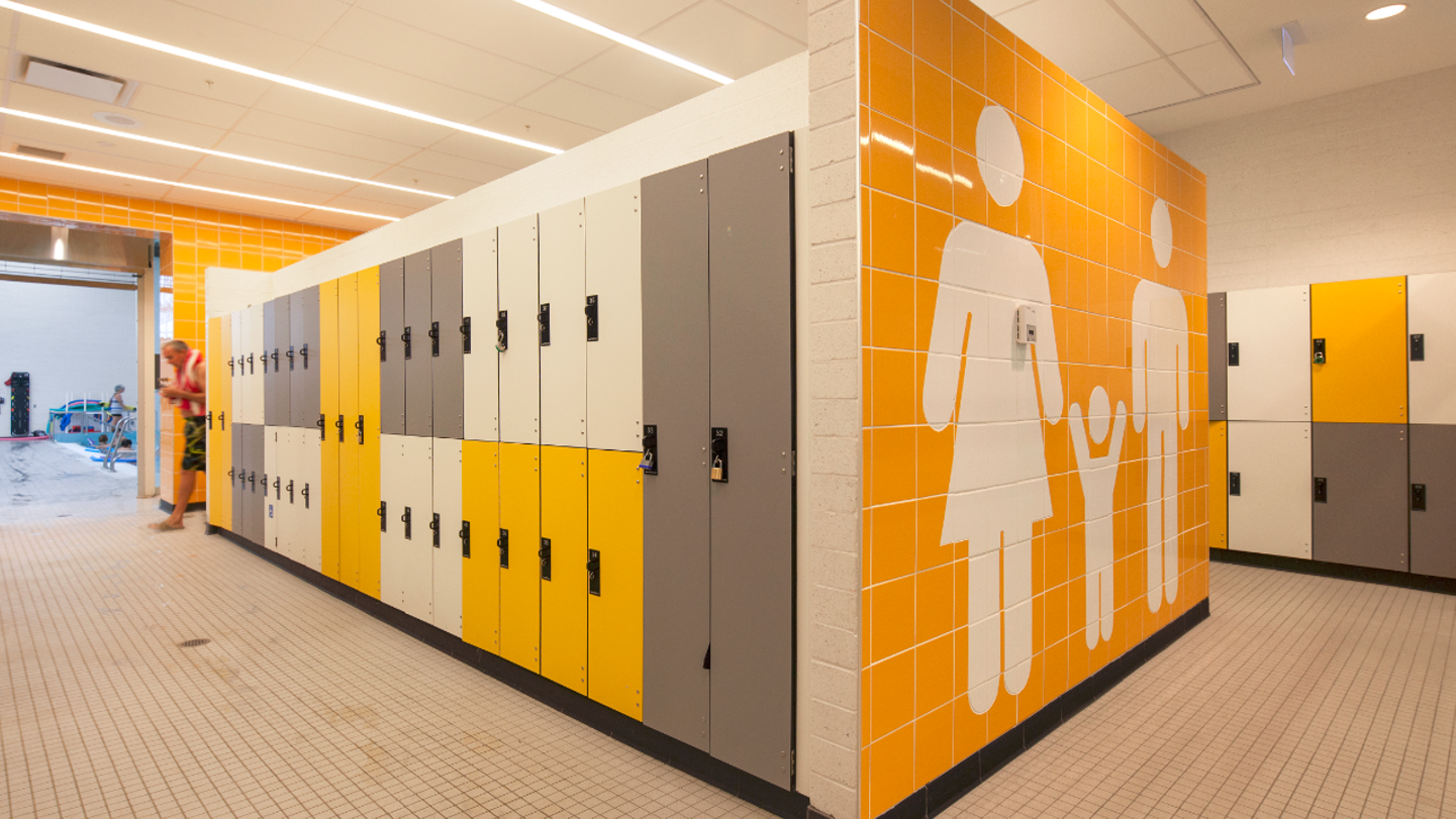 Bangert Gender Neutral Locker Room West Lafayette S Idea For New Rec Center
