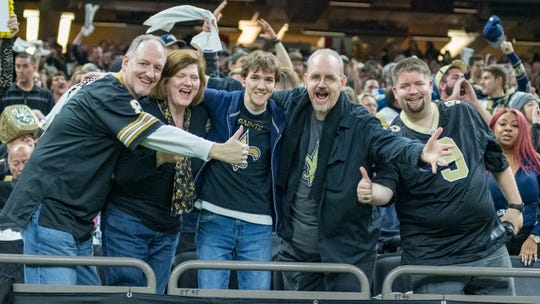 Whether they watch the game or not, which team should New Orleans Saints' fans hope wins Sunday's Super Bowl.