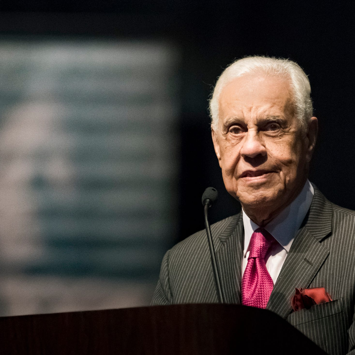 Former Virginia Gov. Douglas Wilder urges people to embrace youth, engage in civic life