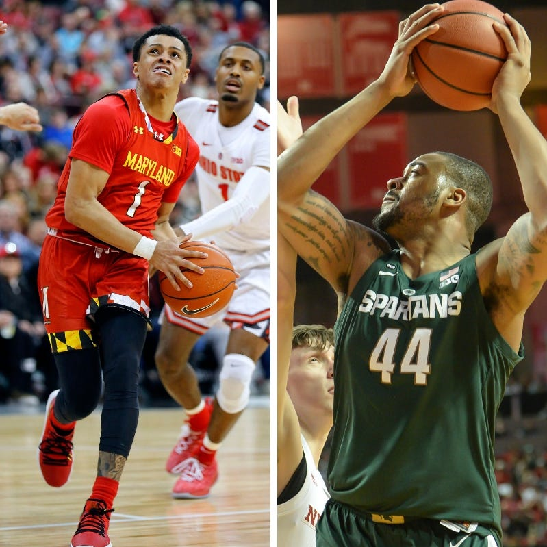 Michigan State vs. Maryland men's basketball: How to watch on TV, stream online