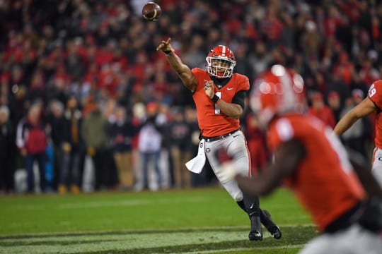 Justin Fields, who has left Georgia for Ohio State, is one of several transfer quarterbacks changing the landscape of college football.
