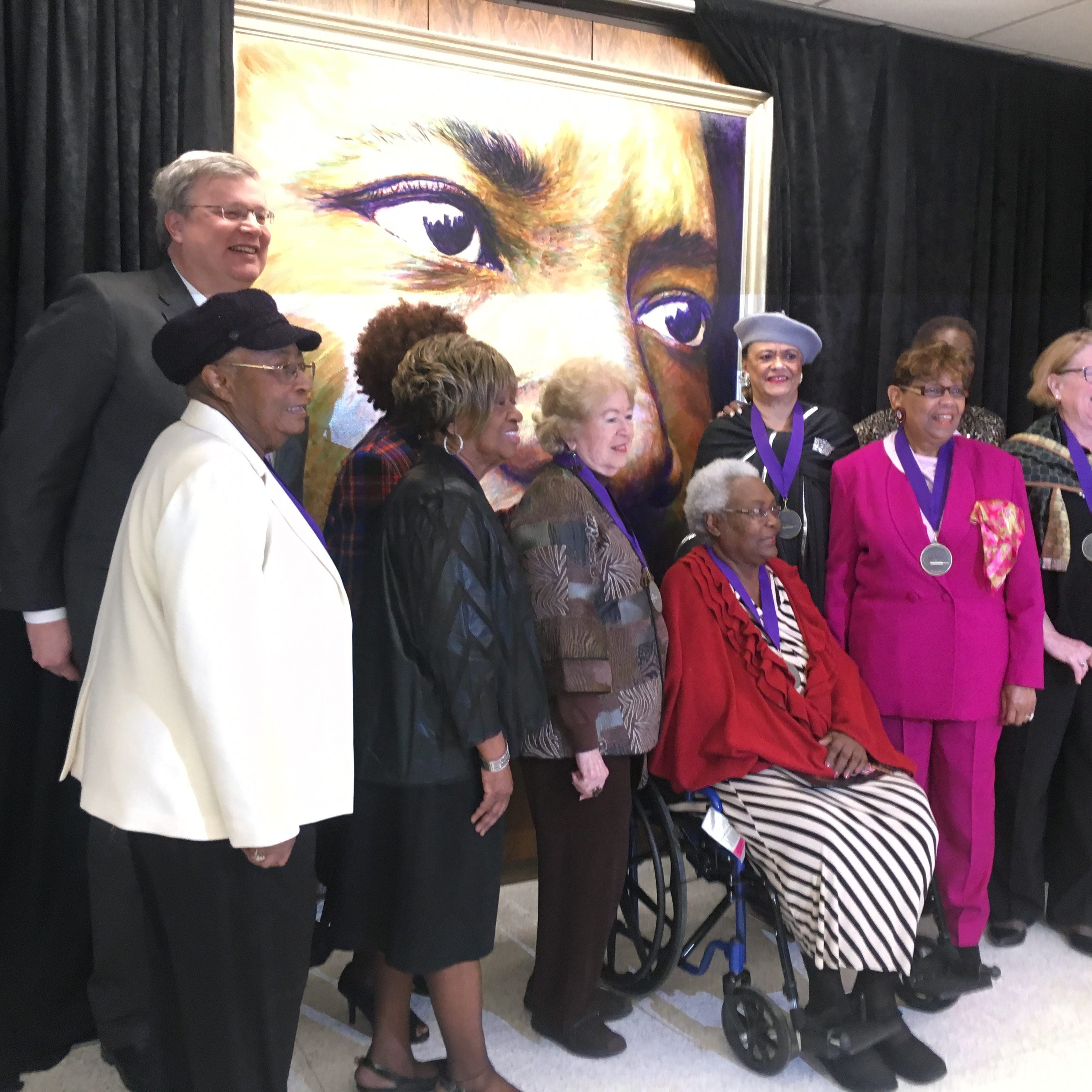 MLK Day in Memphis: 10 women honored at city hall, new King portrait unveiled, museum hosts fair