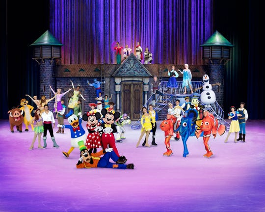 Disney On Ice: 100 Years of Magic is coming to the Pensacola Bay Center April 18 through 21.