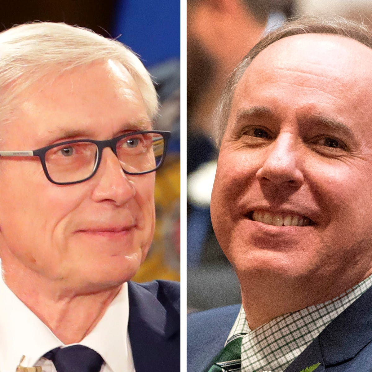 GOP leader Robin Vos falsely claims Gov. Tony Evers made troops wait for greeting