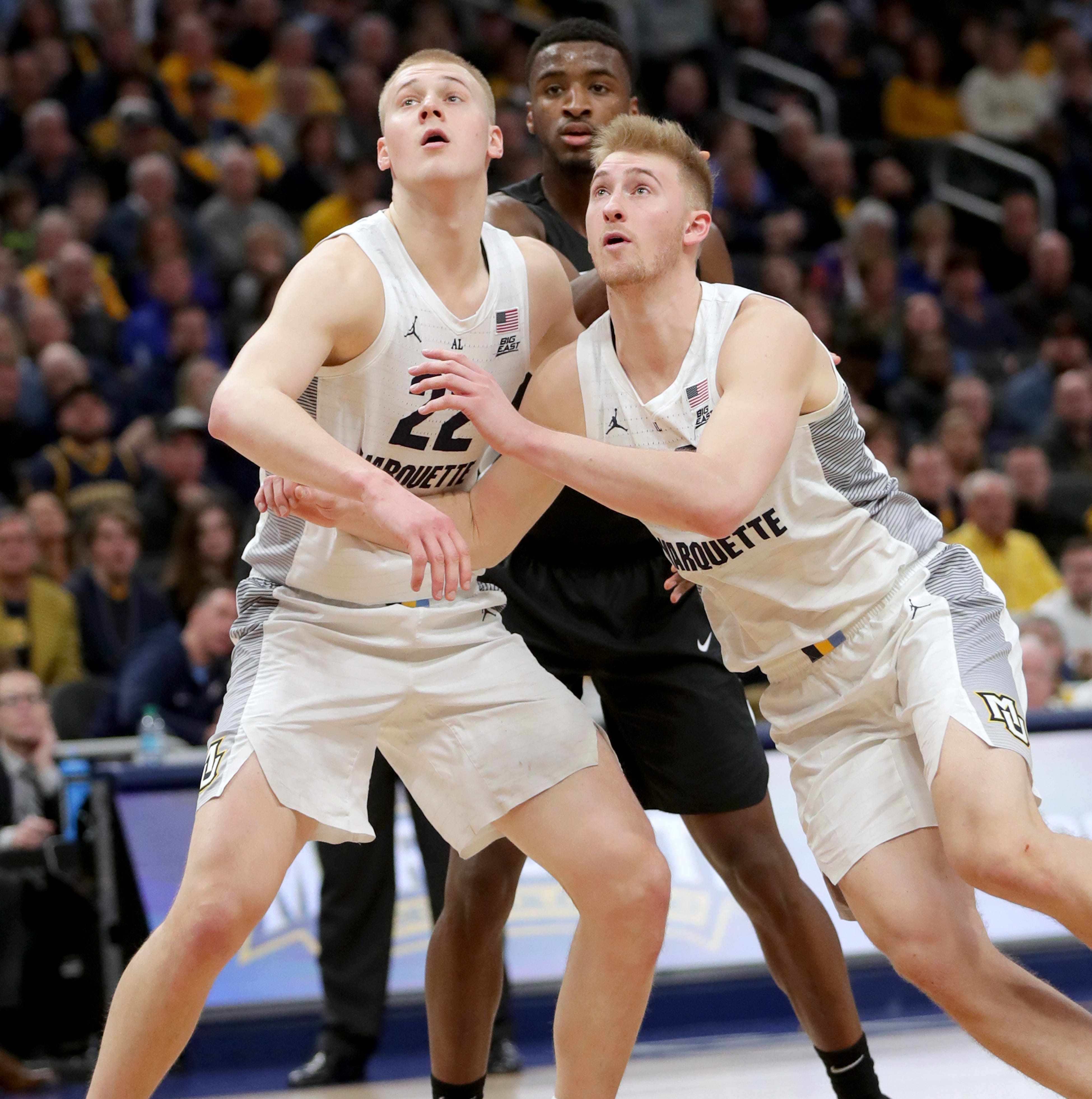 Marquette's Hauser brothers sweep Big  East weekly basketball awards