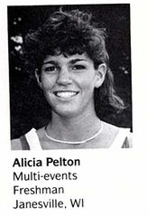 Alicia Pelton, Wisconsin Badgers track