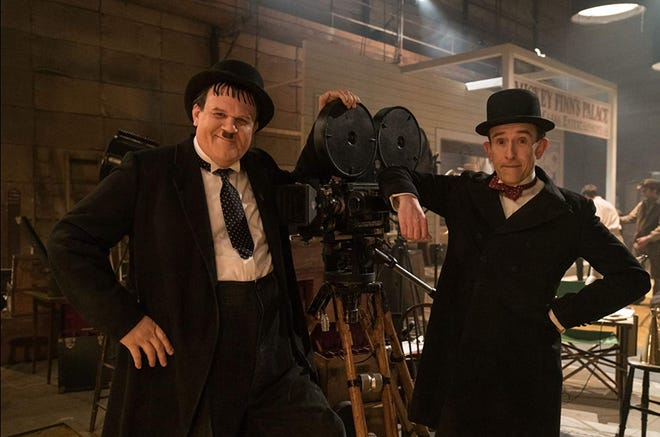 """John C. Reilly (left) and Steve Coogan (right) are comedy legends at a crossroads in """"Stan & Ollie."""""""