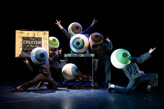 """Eye-Opener,"" one of the exotic works from Pilobolus"