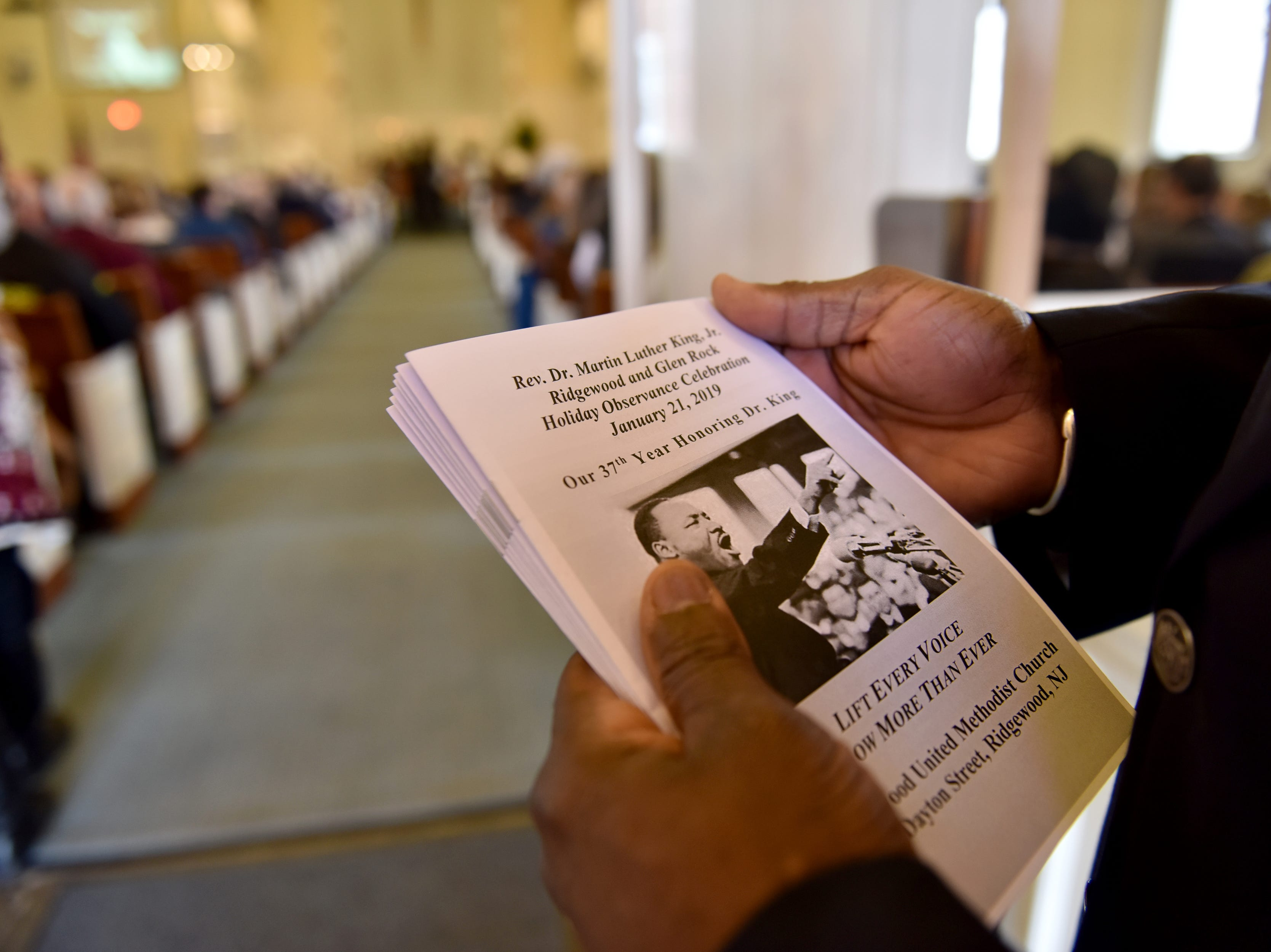The Ridgewood United Methodist Church held its 37th year of honoring Dr. Martin Luther King, Jr. in Ridgewood, N.J. on Monday January 21, 2019. Area residents and religious leaders from many faiths attended the annual event.