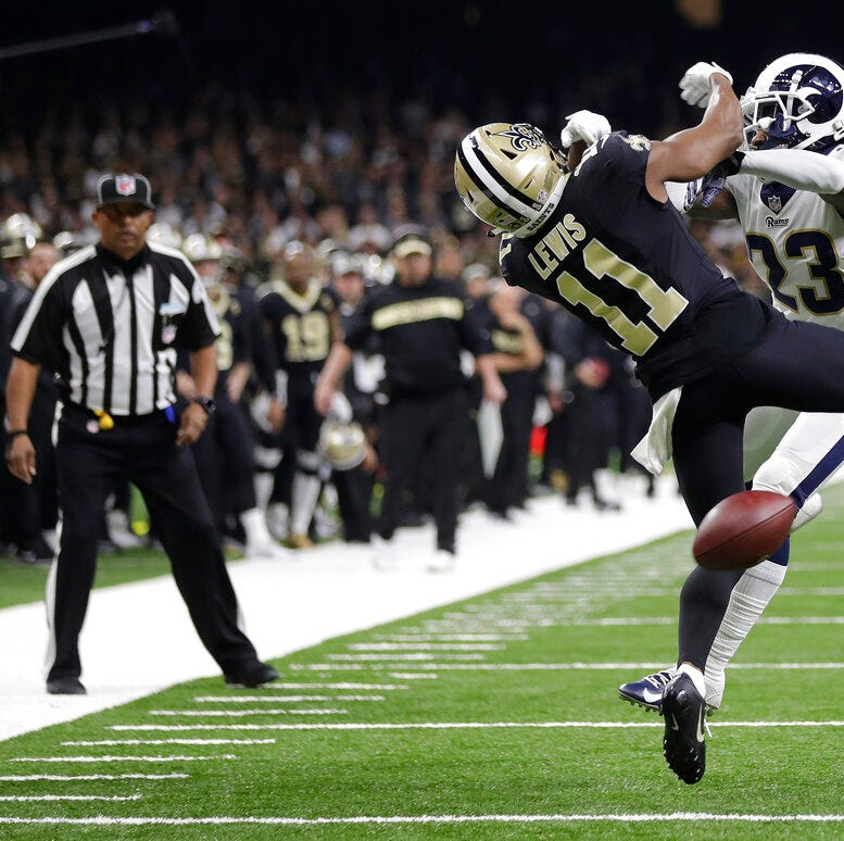 New Jersey sportsbook refunds Saints bets over late missed penalty call against the Rams
