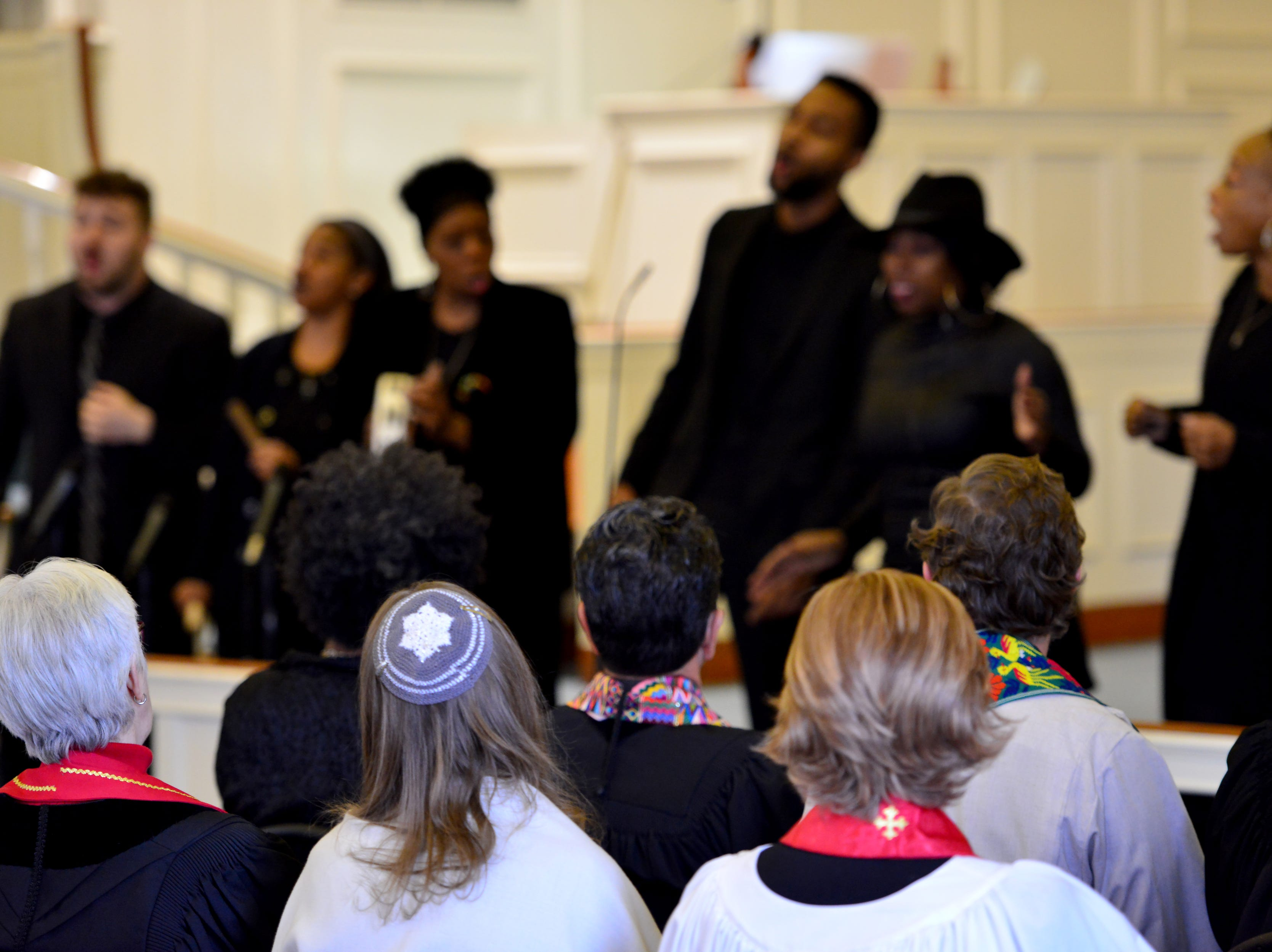 The interfaith service had many religions present at the Ridgewood United Methodist Church, which held its 37th year of honoring Dr. Martin Luther King, Jr. in Ridgewood, N.J. on Monday January 21, 2019. Area residents and religious leaders from many faiths attended the annual event.