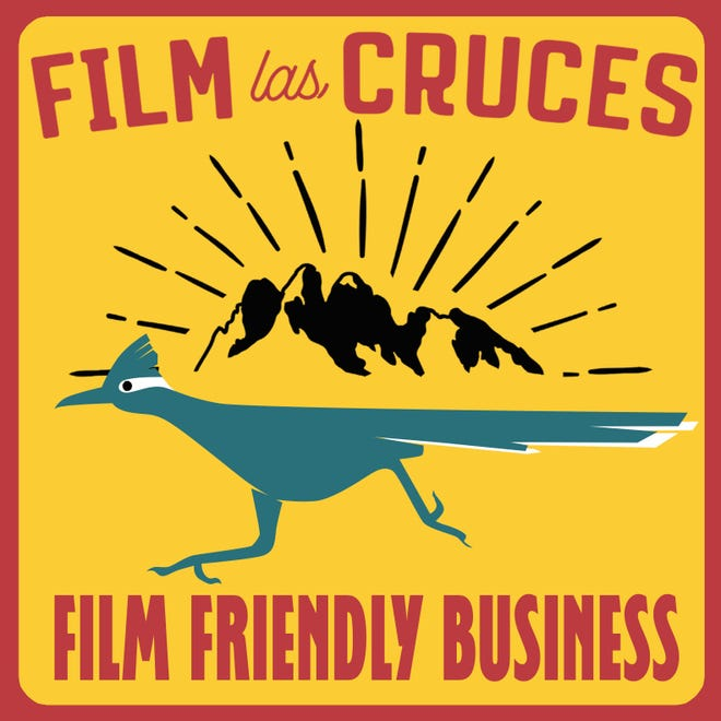 Businesses in the Film Friendly Business program will receive this window sticker.