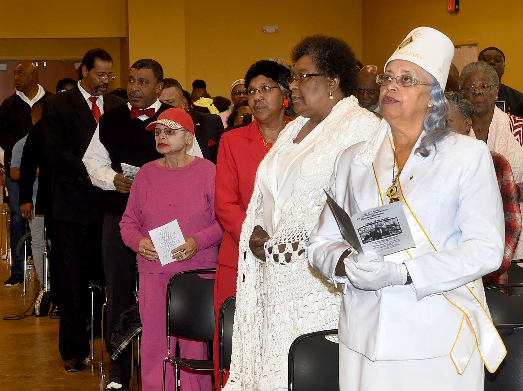Opelousas residents celebrate the Dr. Martin Luther King, Jr. birthday and memoriam