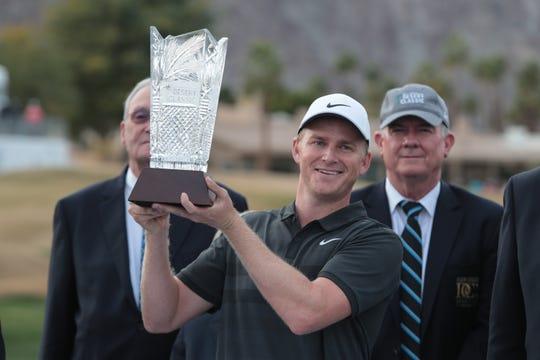 Adam Long wins the 2019 Desert Classic, Sunday, January 20, 2019.