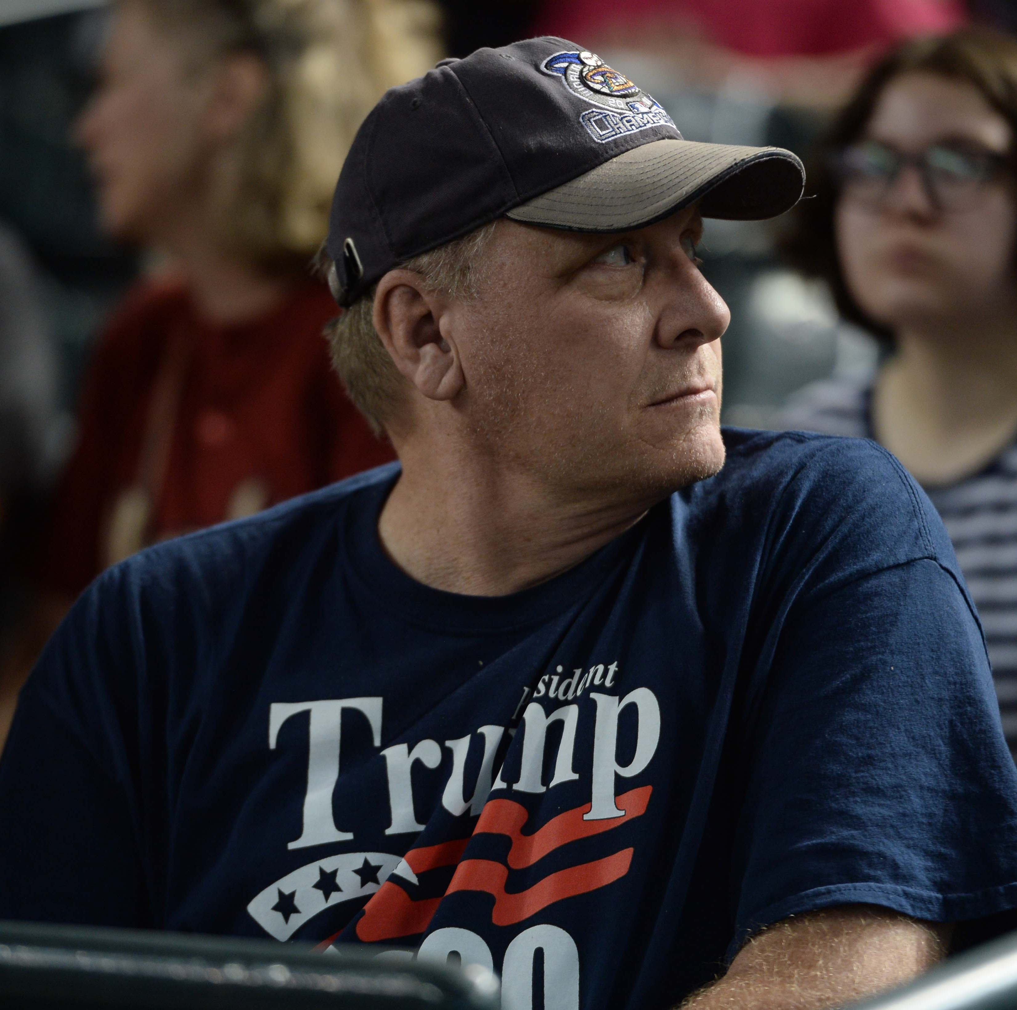 President Donald Trump says Curt Schilling deserves to be in Baseball Hall of Fame