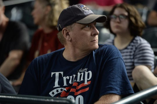 Trump cheers Curt Schilling's possible run for Congress in Arizona