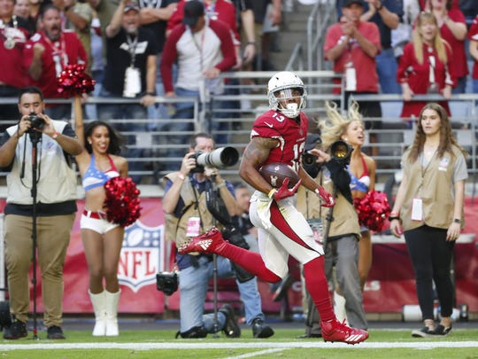 Arizona Cardinals wide receiver Christian Kirk is excited to play in Kliff Kingsbury's offense
