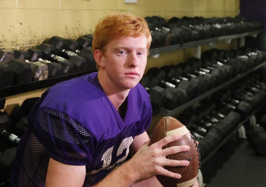 Queen Creek quarterback Devin Larsen will walk on at Iowa State.