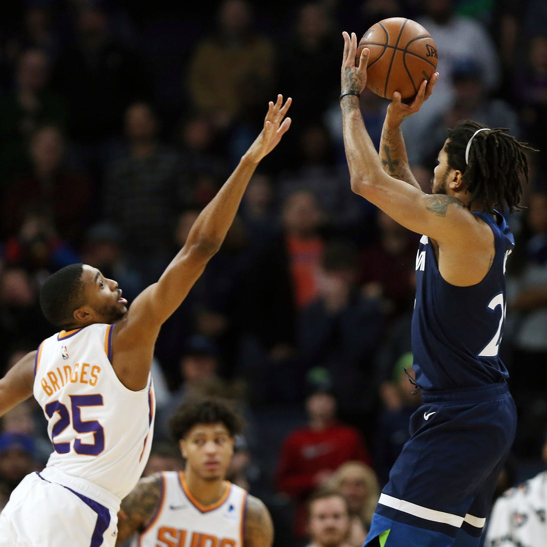 Timberwolves' Derrick Rose downs short-handed Suns with last-second shot