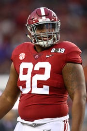 Alabama Crimson Tide defensive tackle Quinnen Williams to the Arizona Cardinals in the 2019 NFL draft? SOme NFL mock drafts like the idea.