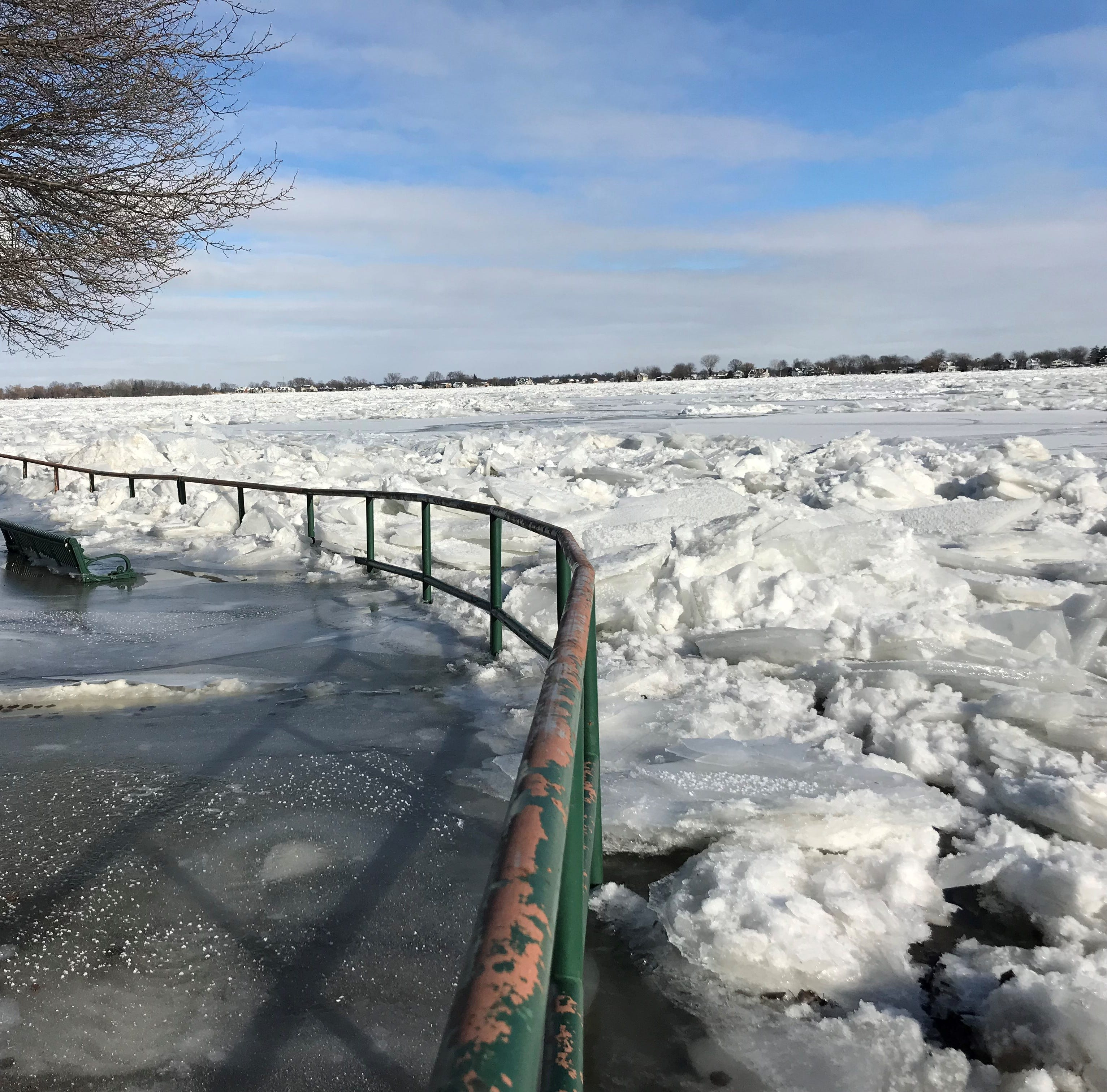Coast Guard working to break ice jam in St. Clair River
