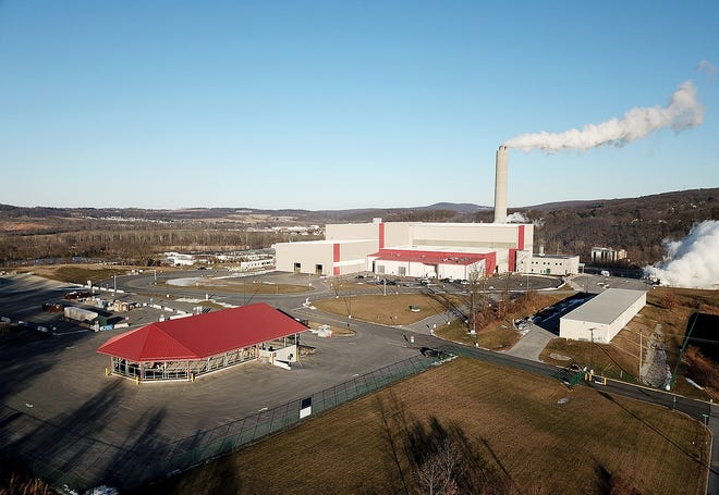 The York County Solid Waste Authority Black Bridge Road facility including the recycling center and incinerator facility.Monday, January 21, 2019. John A. Pavoncello photo