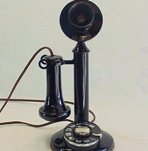 Yes, I still have a landline telephone on-call