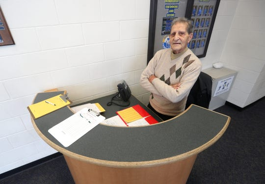 Jimmy Ingutti is 97-years-old and still working as a teachers aide at Irondequoit High School.