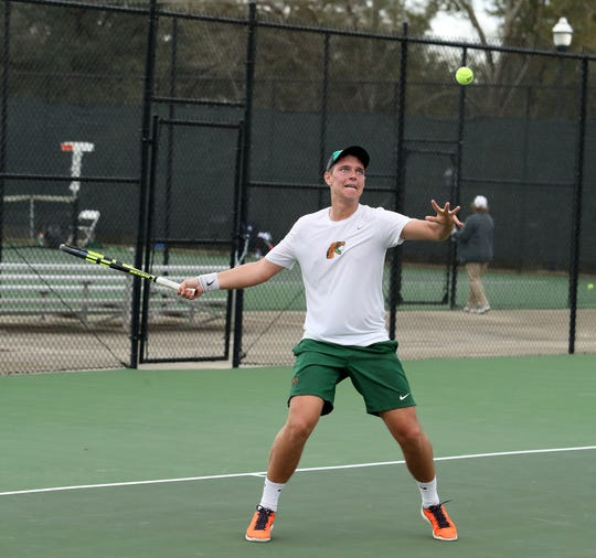 FAMU senior Illya Skoromnyy was voted first-team All-MEAC. He looks to close out his career with a league title in the MEAC Tennis Championships in Norfolk, Virginia.