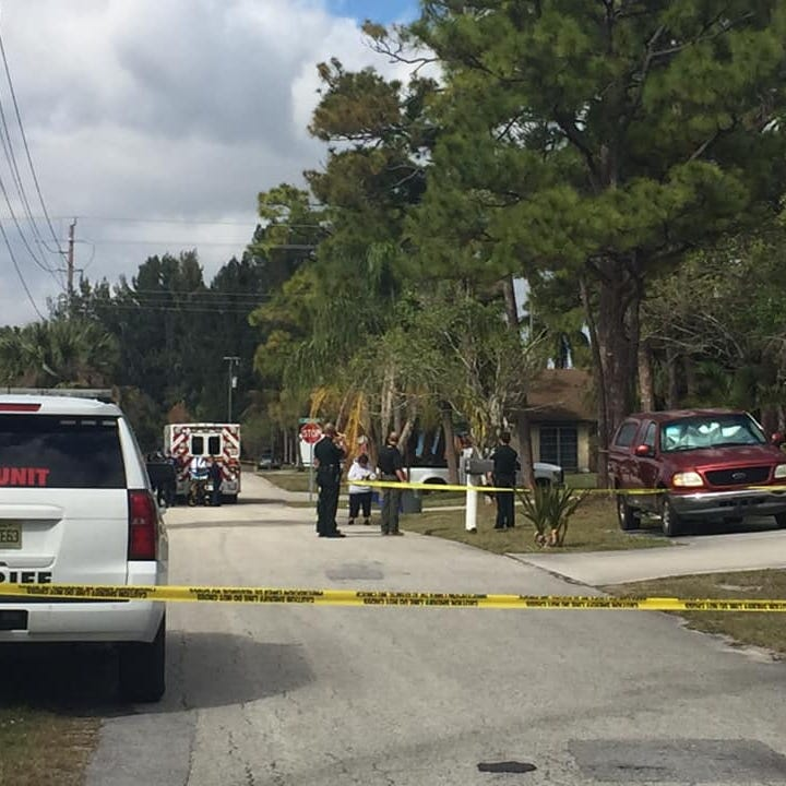 Unidentified man shot in abdomen by Martin County sheriff's deputy after charging with scissors
