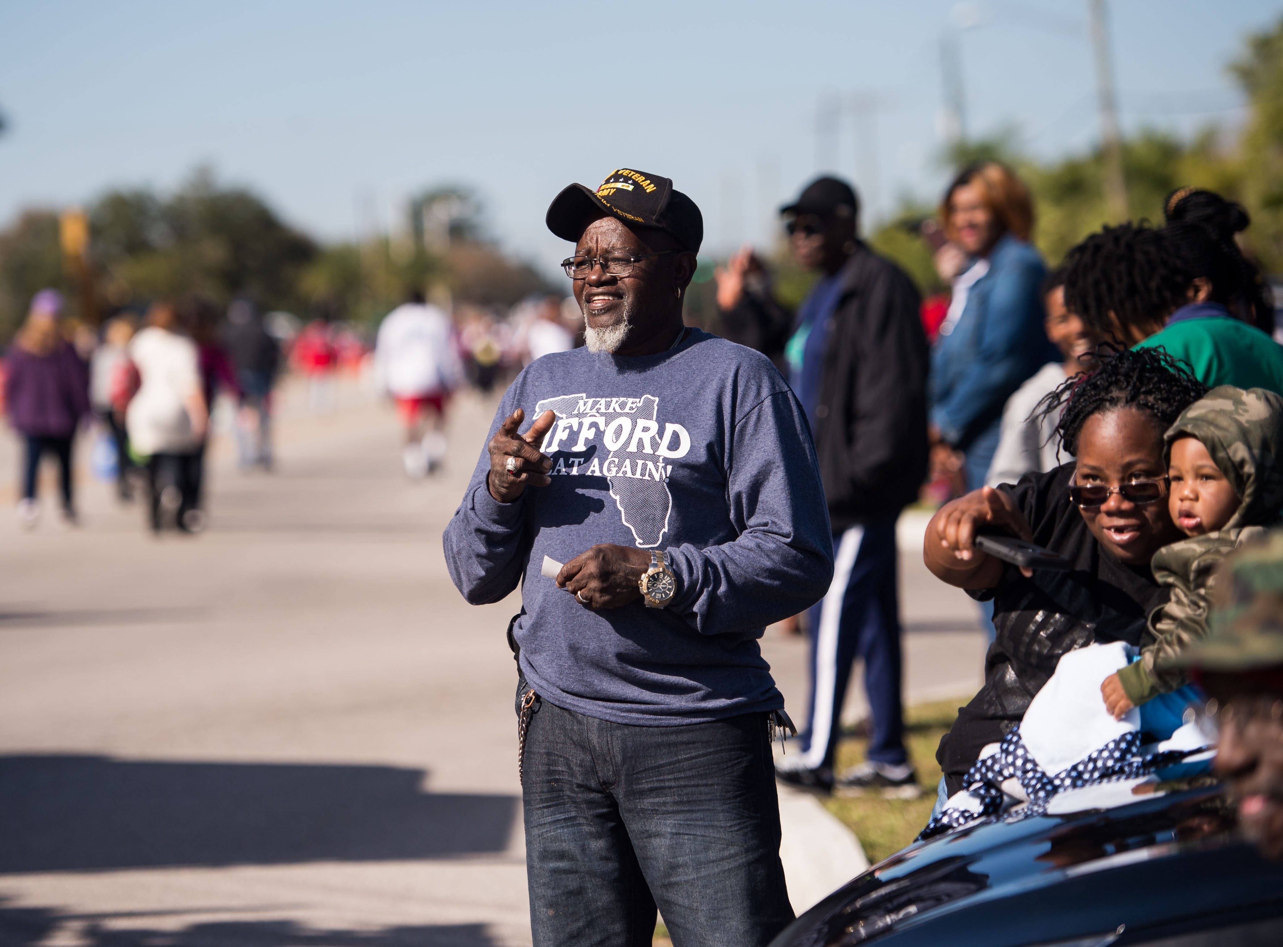 The 2019 MLK Parade, organized by the Dr. Martin Luther King Jr. Birthday Committee of Indian River County, proceeds through Gifford on Monday, Jan. 21, 2019, ending in a festival at Gifford Park.