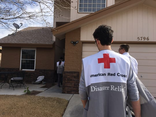 The El Paso Fire Department along with the American Red Cross canvassed a Northeast neighborhood to install free smoke alarms and educate families about fire prevention and safety as part of MLK Jr. Day.