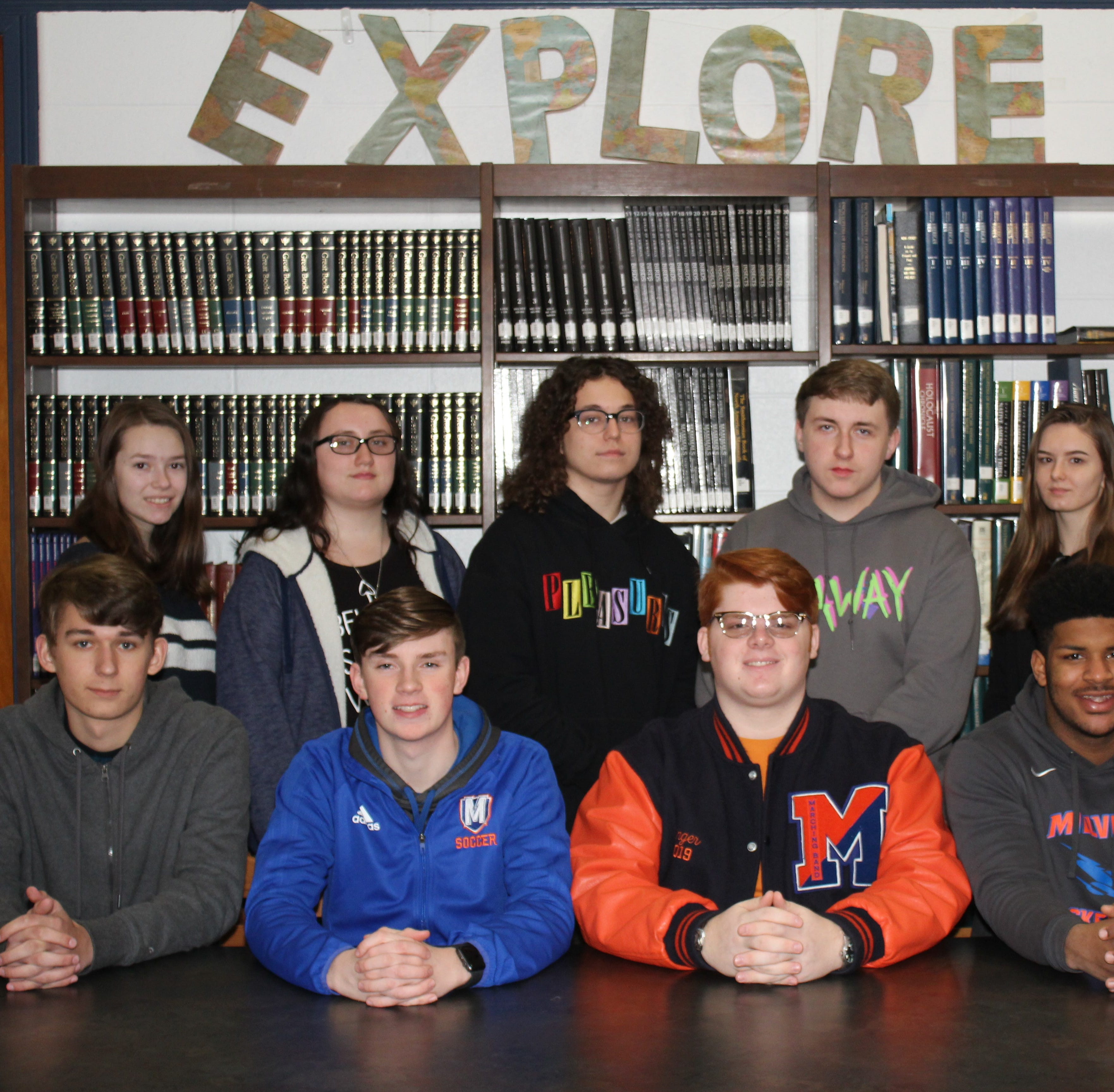 Millville High School's Students of the Month