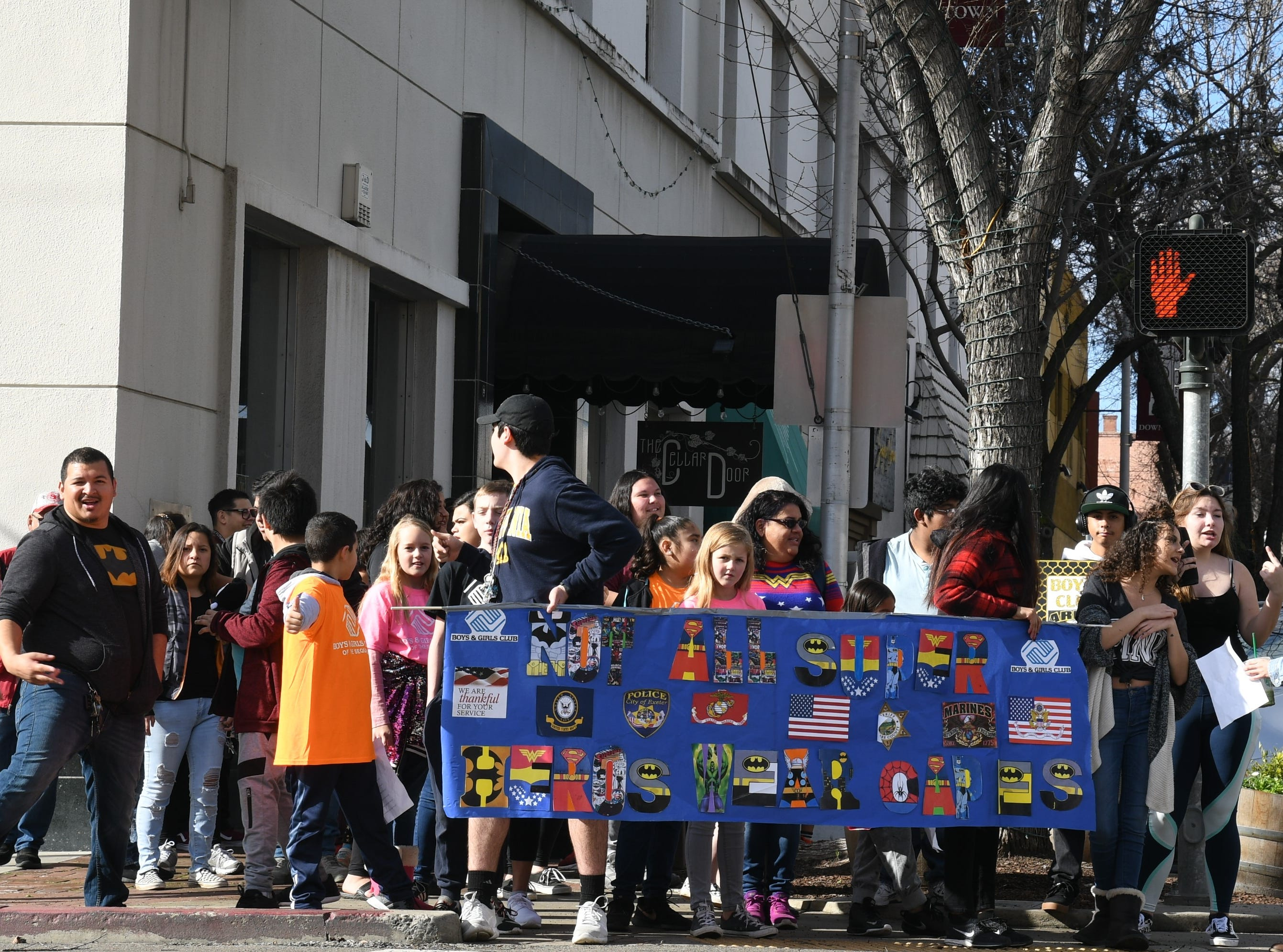 More than a hundred Tulare County youth took to the streets of downtown Visalia to celebrate MLK's legacy.