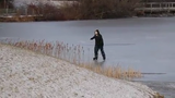 The cold weather is perfect for ice skating at Congers Lake Jan. 21, 2019