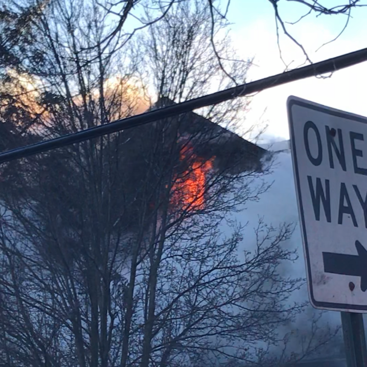 Mount Vernon fire erupts on coldest day of the year, resident taken to hospital