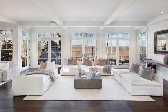Actor Bruce WIllis has put his Bedford Corners estate on the market.