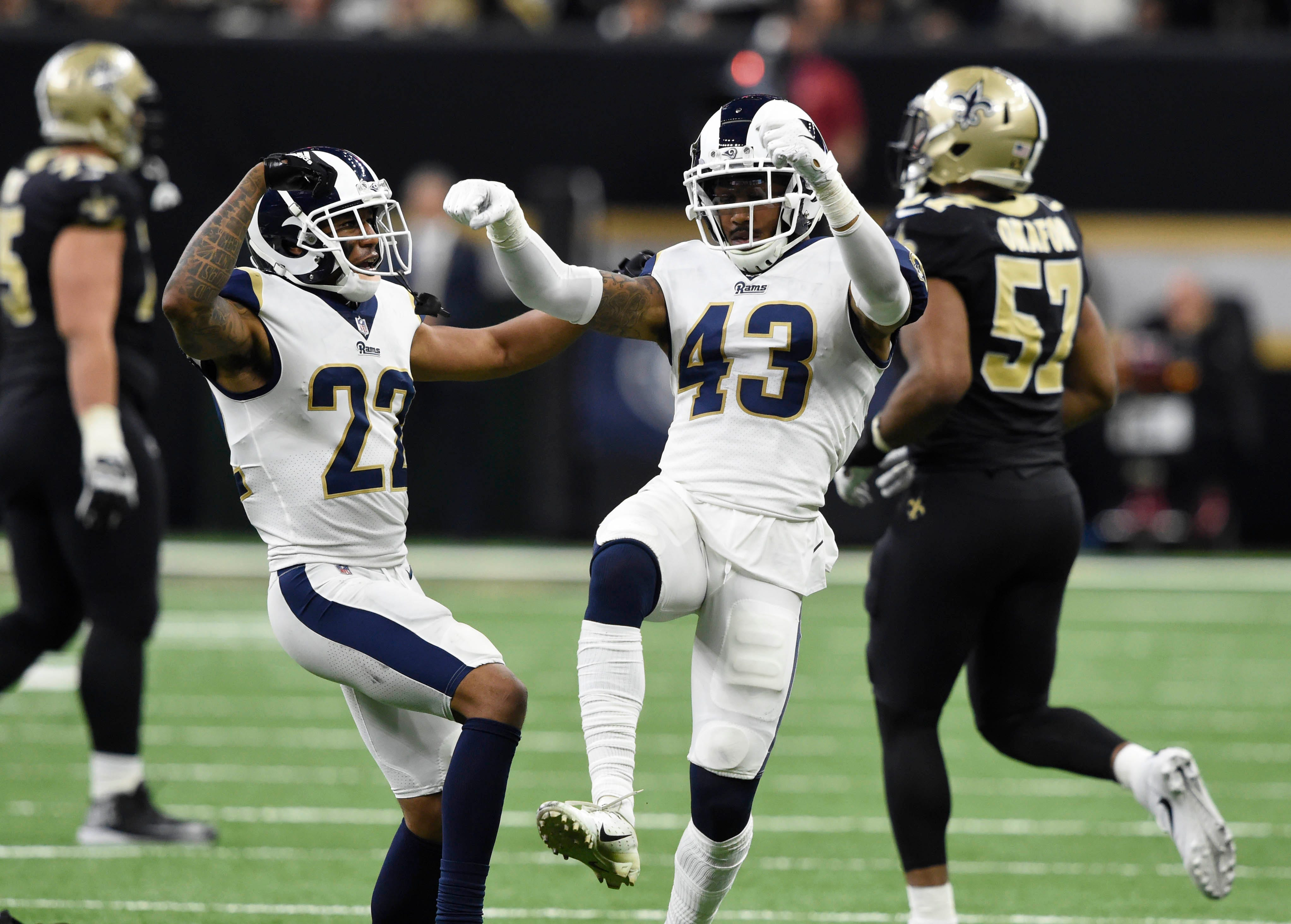 Opinion: Rams did more so much more than benefit from no-call to reach Super Bowl