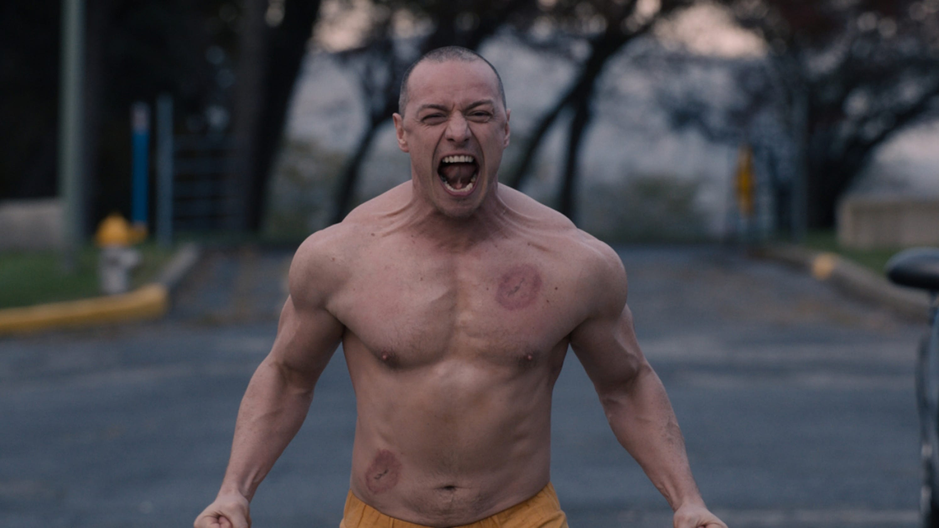 Glass': How James McAvoy got into Beast mode for a muscular