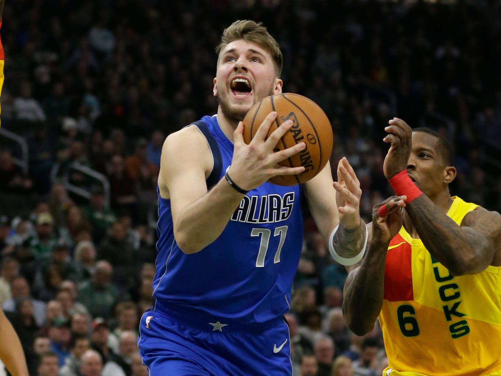 57. Luka Doncic, Mavericks (Jan. 21): 18 points, 11 rebounds, 10 assists in 116-106 loss to Bucks.