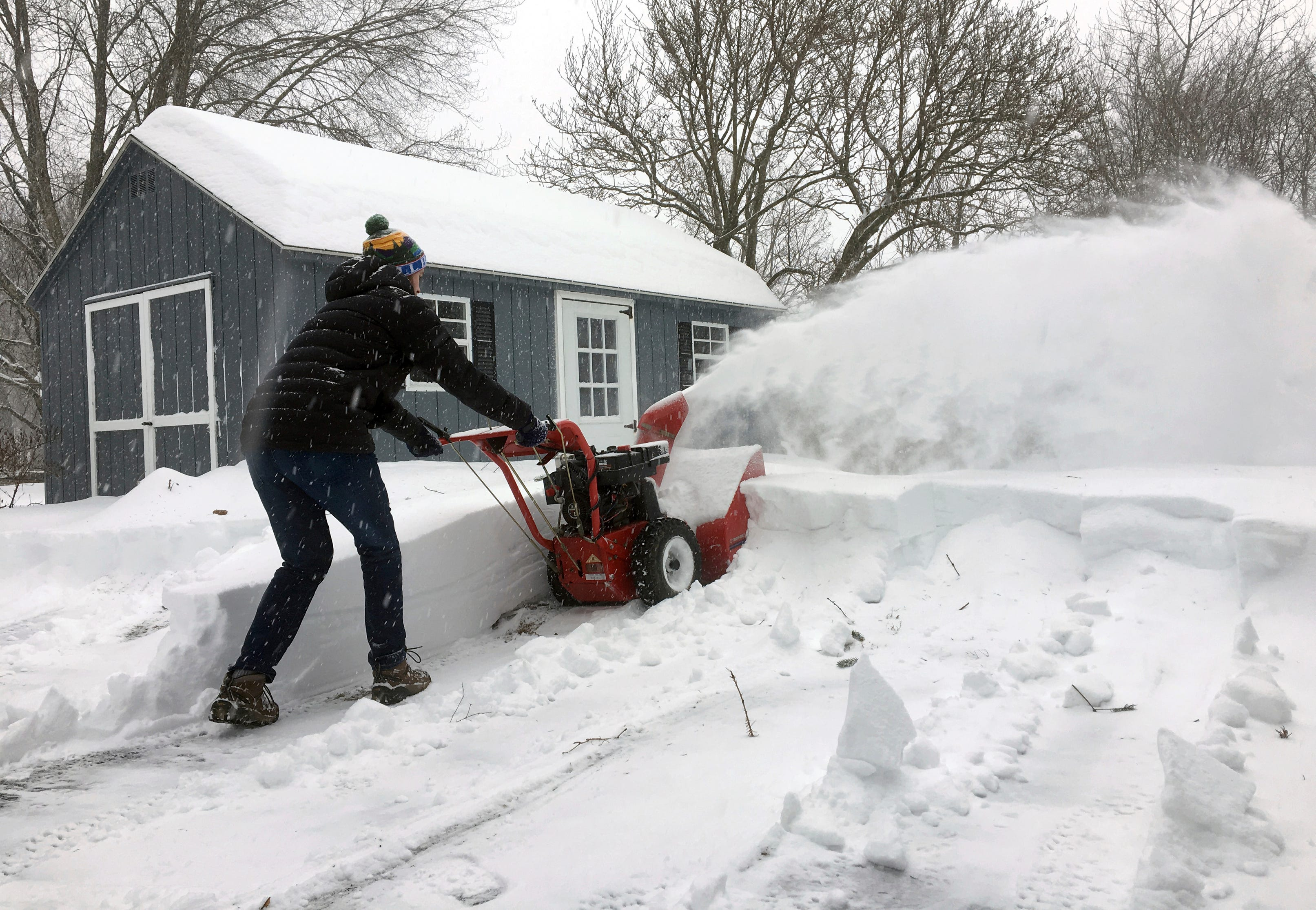 Relentless winter: Snowstorm pounds central U.S.; brutal cold will follow