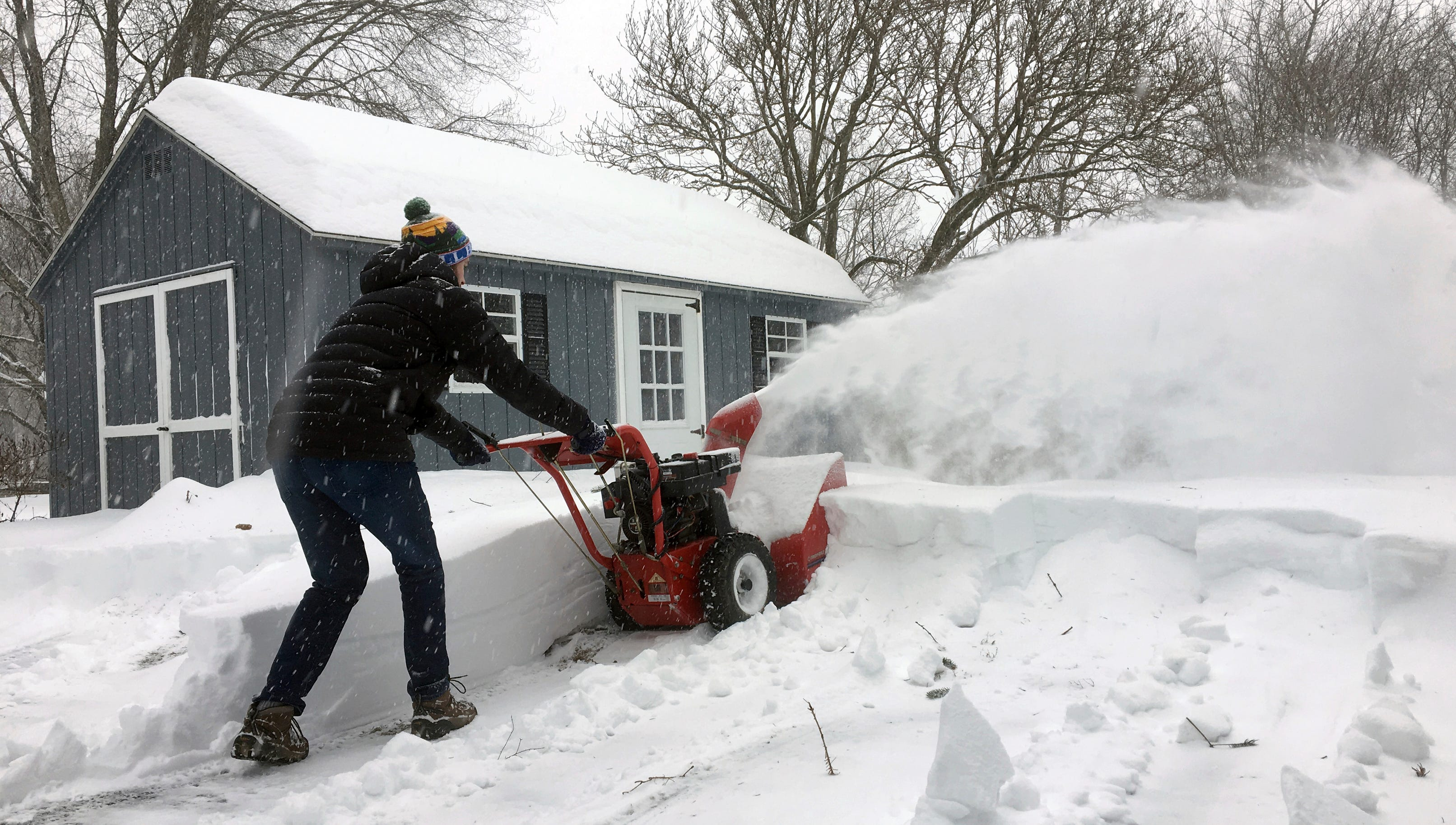 Winter Storm: Winter Storm: Snow, Wind, Cold Wreak Havoc In Midwest